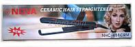 """Прибор для укладки волос (Плойка) """"NOVA NHC - 488CRM"""" c керамическим покрытием без регулятора"""