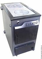 Твердотопливный котел Буржуй 18 кВт с плитой