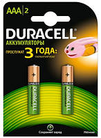 Акумулятор AAA Duracell 750 mAh 2 шт. (s.38769)