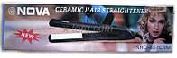 Плойка для выпрямления волос (Утюжок) NOVA NHC - 467
