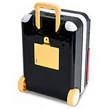 Детская электронная копилка сейф чемодан NBZ Cartoon Bank с кодовым замком Superman, фото 3