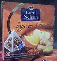 Чай Lord Nelson Ingwer and Frucht в пирамидках, фото 1