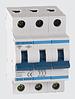 Автоматичний вимикач автомат 63 ампер Европа А трьохфазний трьохполюсний В B характеристика