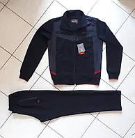 Спортивный костюм мужской темно-синий турецкий