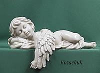 Ангел на пам'ятник, скульптури для пам'ятників, Пам'ять, Сплячий ангел, лівий