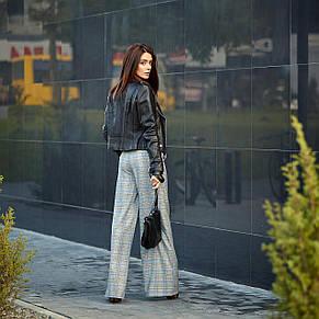 Модні жіночі штани в клітку, фото 2