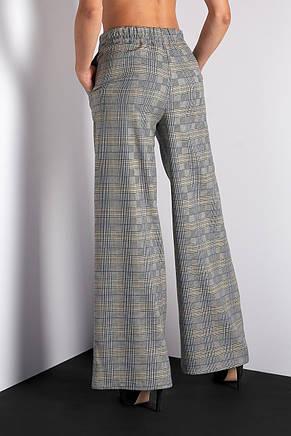 Модные женские брюки в клетку, фото 2