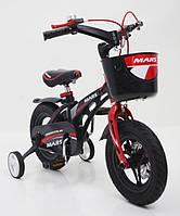 """Дитячий велосипед Mars 12"""" для дітей від 2 до 5 років"""