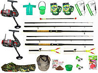 Комплекты рыболовные, Наборы для рыбалки, Набор рыболовных снастей, универсальный набор для рыбалки!