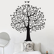 Наклейки деревья, ветки, флора
