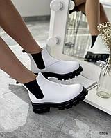 Білі черевики 36 розмір, фото 1