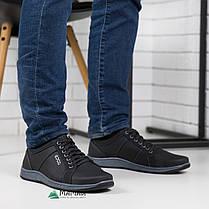 Кроссовки мужские черные, фото 2