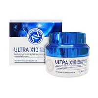 Зволожуючий крем для обличчя з колагеном Enough Ultra X10 Collagen Pro Marine Cream