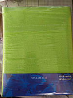 Простынь на резинке на матрас 90х200 см зеленая