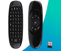 Аэромышь Air Mouse I8 / Клавиатура с гироскопом / воздушная мышь пульт Android TV Smart