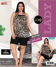Майка з шортами великих розмірів LADY LINGERIE 10306