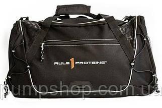 Сумка Rule One R1 Black Gym Bag черная
