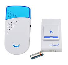 Беспроводной дверной звонок Luckarm Intelligent A8603 220V Blue