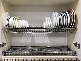 Сушарка для посуду у шафу з нержавіючої сталі 900