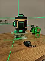 Лазерный уровень Pracmanu 4D 16 линий Green (зеленый луч , аналог Hilda 4d)