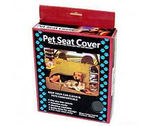 Накидка на сиденье для животных Pet Seat Cover BlackСпальные места для кошек и собак в Украине