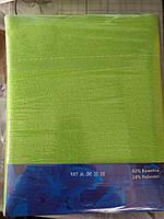 Простирадло на гумці 220х240 см для матраца 180х200 см зелена