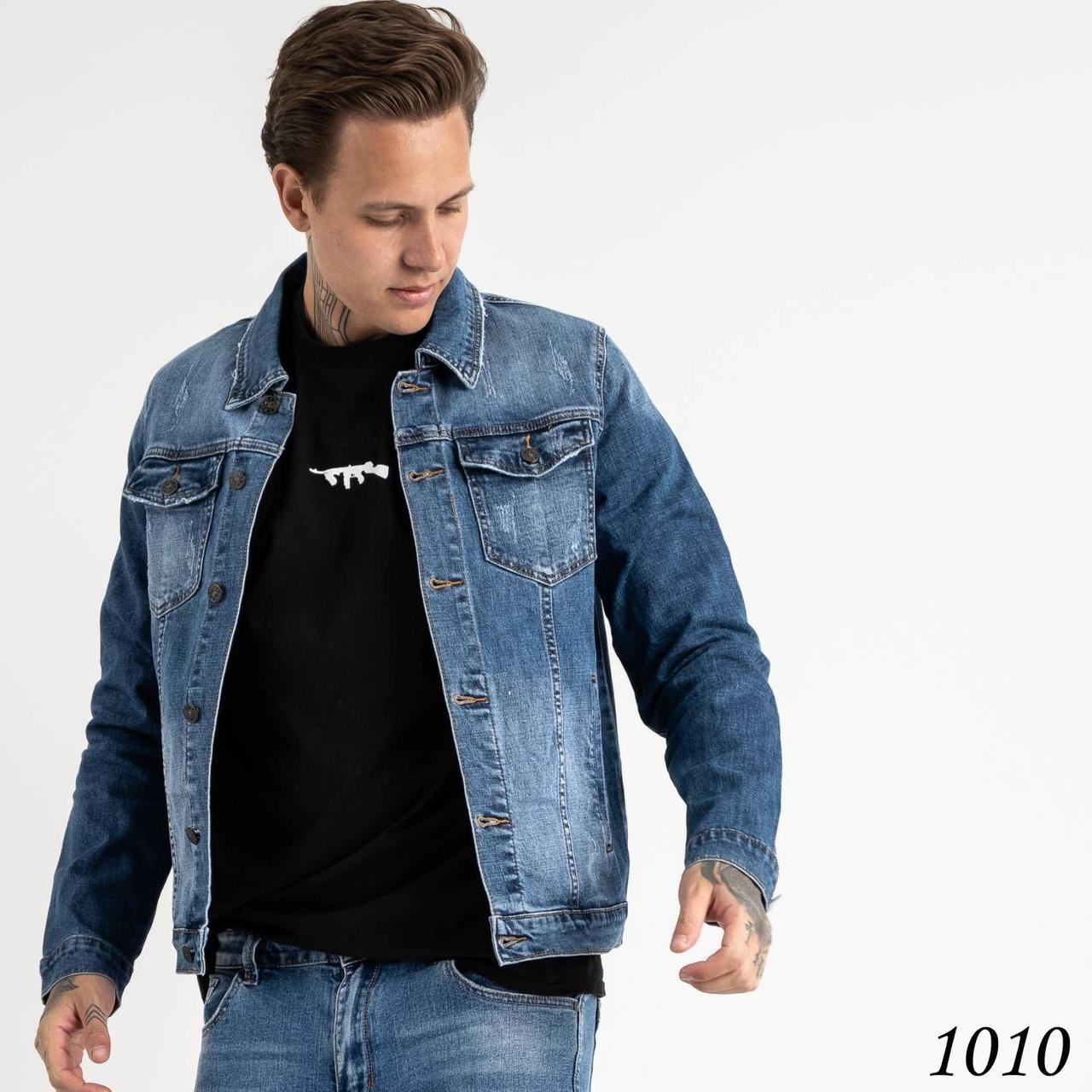 Чоловіча джинсова куртка Fang №1010