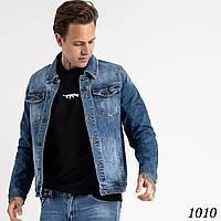 Чоловіча джинсова куртка Fang №1010, фото 1
