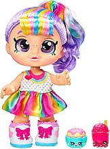 Kindi Kids Кукла пупс время друзей перекусить Радуга Кейт Rainbow Kate Snack Time Friends Pre-School
