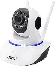 Бездротова поворотна IP камера WiFi microSD 6030B PT2 100ss IP камера в Україні