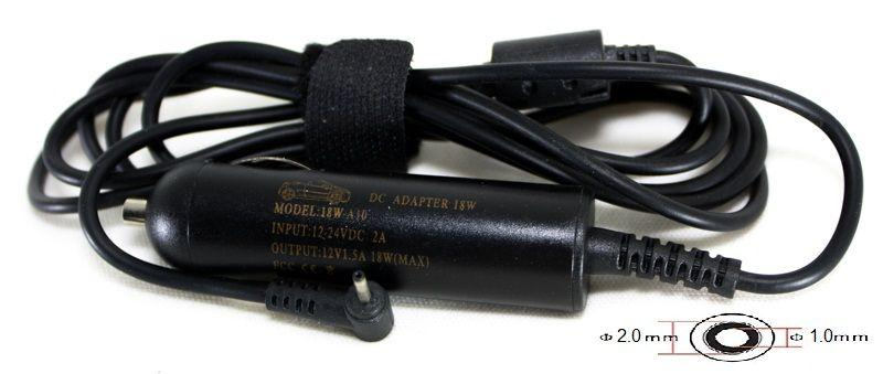 Автомобільний зарядний пристрій Motorola (2.0x1.0 mm 12V/1.5 A) PowerPlant (MOA18A2010)
