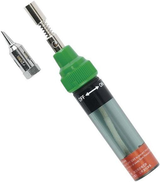 Паяльник газовий (пальник) Pro'sKit 8PK-101-2 (температура нагріву жала 210-400°C, факела понад 1300°C)