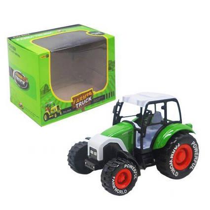 Трактор зеленый sv-175