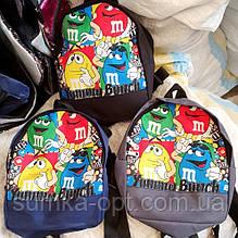 Дитячі, підліткові рюкзаки M&M 21*26 см