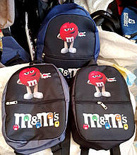 Дитячі, підліткові рюкзаки M&M 21*28 см