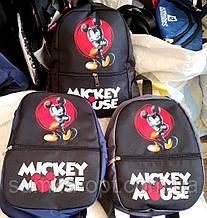 Дитячі, підліткові рюкзаки Mickey Mouse 21*28 см