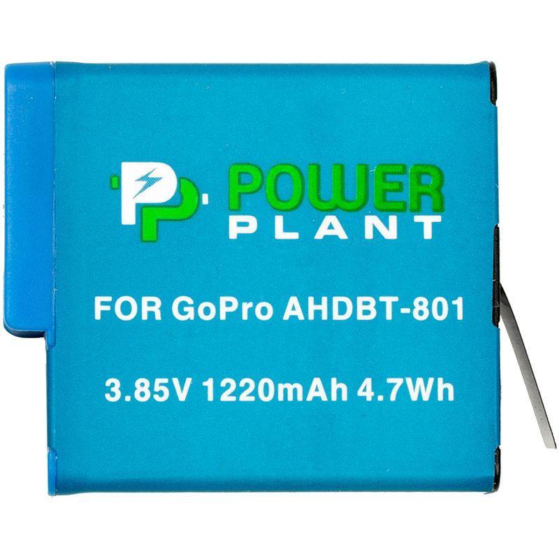 Акумулятор для відеокамери GoPro AHDBT-801 (1220 mAh) (декодирован) CB970377 PowerPlant