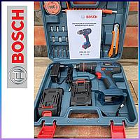 Ударный шуруповерт BOSCH GSB 24-2LI + набор инструментов. Аккумуляторный шуруповерт Бош с ударом. ГАРАНТИЯ!