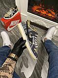 Чоловічі кросівки Nike SB Dunk Low Travis Scott Brown, кросівки найк сб данк тревіс скотт, фото 5