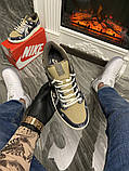 Чоловічі кросівки Nike SB Dunk Low Travis Scott Brown, кросівки найк сб данк тревіс скотт, фото 3