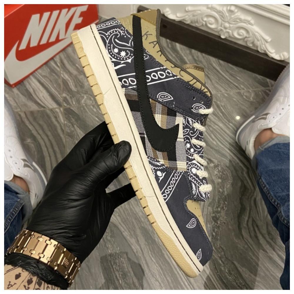 Чоловічі кросівки Nike SB Dunk Low Travis Scott Brown, кросівки найк сб данк тревіс скотт