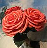 Роза красная на 8 марта Ростовые цветы из изолона