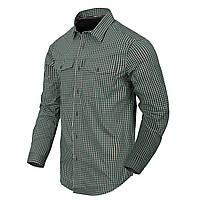 Рубашка с длинным рукавом Helikon-Tex® Covert Concealed Carry Shirt - Savage Green Checkered S