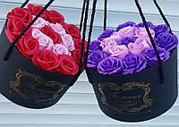 Подарочный набор цветы из мыло
