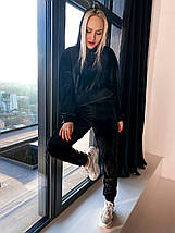 Жіночий велюровий спортивний костюм 10200 (ВІВ), фото 2