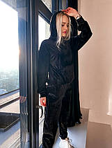 Жіночий велюровий спортивний костюм 10200 (ВІВ), фото 3
