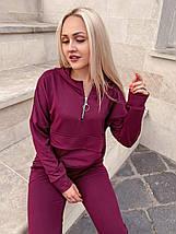 Спортивний костюм жіночий трикотаж 10207 (ВІВ), фото 2