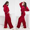 Жіночий велюровий спортивний костюм 773 (ЛК), фото 3