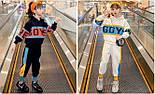 Спортивний костюм для дівчинки підлітка на флісі, фото 2