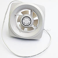 Вентилятор вытяжной со шторой 150×150мм, 20 Вт, 1,44 м3 в мин. 220В